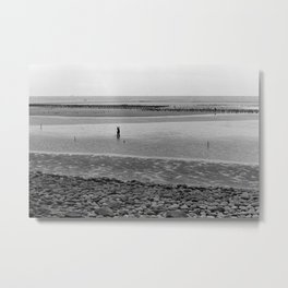 Black & White Film #4 Metal Print