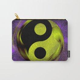 yin yang Ensō zen buddhism purple anise Carry-All Pouch