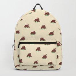 Hedgehog in hair raising speed Backpack
