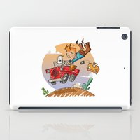 tintin iPad Cases featuring Tintin and Snowy! by Ana Xoch Guillén