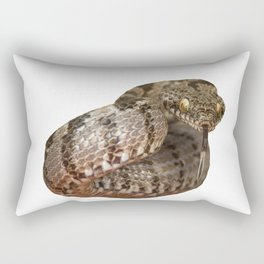 Ottoman Viper Snake Tasting The Air Rectangular Pillow