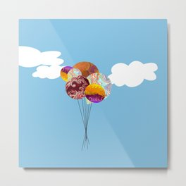 There's a lot on my mind these days Metal Print