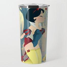 Snow White Pin Up Travel Mug