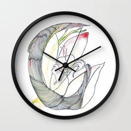 Flower n°4 Wall Clock
