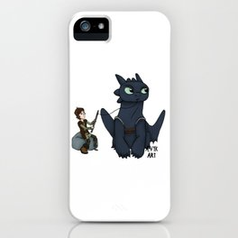Hungry Toothless iPhone Case