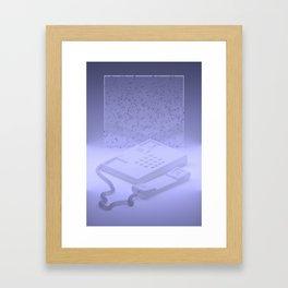 Landline Framed Art Print
