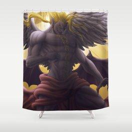 Kefka -  God form Shower Curtain
