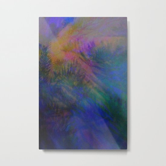 Magical Mystery Lights Metal Print