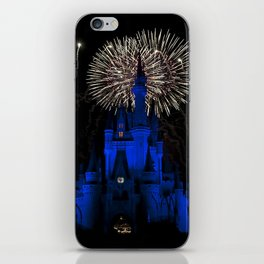 Castle + Fireworks = Excitement iPhone Skin