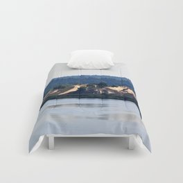 Landscape on the river # 2 Comforters