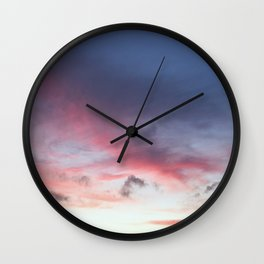 another sunset photo Wall Clock