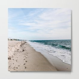 USA Photography - Miami Beach Shore Metal Print