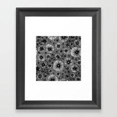Black Holes Framed Art Print