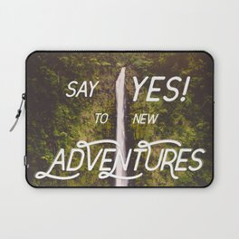 Say Yes Laptop Sleeve