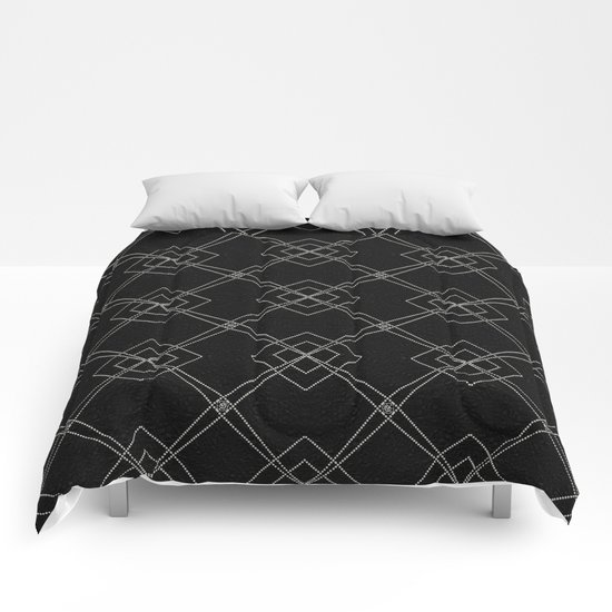 X Marks The Spot Comforters