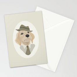 Working retriever Stationery Cards