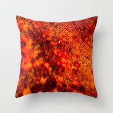 BURNT RUST Throw Pillow