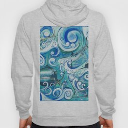 Shark wave Hoody