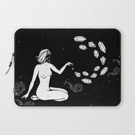 Space Goddess Putting Spells on the Stars Laptop Sleeve