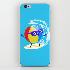 Lets Surf The Ocean Together! iPhone & iPod Skin