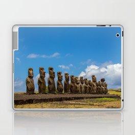 Ahu Tongariki // Easter Island // Moai statues // Photography Laptop & iPad Skin
