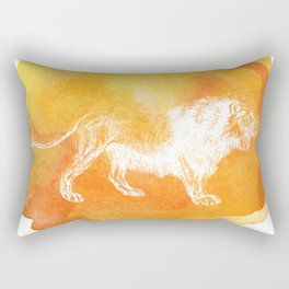 Color Spot Safari Lion Rectangular Pillow