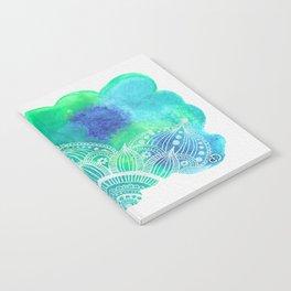 Ice Mandala Notebook