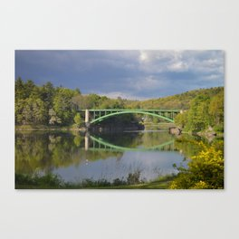 Summer Storm Clouds - Delaware River Canvas Print