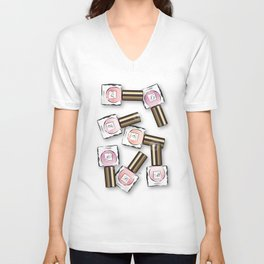 Nail polishes Unisex V-Neck