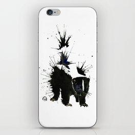Skunk - Ink Blot iPhone Skin
