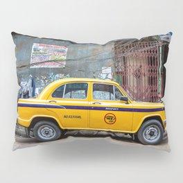 Taxi India Pillow Sham