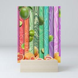 Limes and Grapefruit Mini Art Print