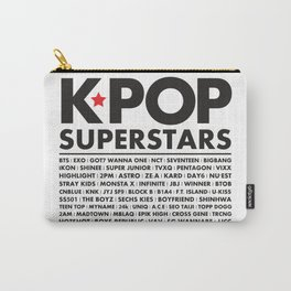 KPOP Superstars Original Boy Groups Merchandse Carry-All Pouch