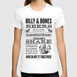 Billy & Bones Hand Crafted Beer T-shirt