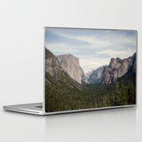 yosemite Laptop & iPad Skins featuring Yosemite Valley by Laura Ruth