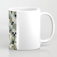 Pixelated Camo Pattern Mug