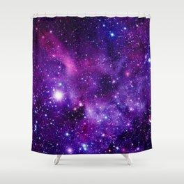 Purple Galaxy Shower Curtain
