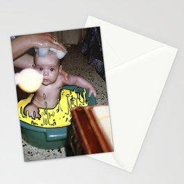 Baño de queso Stationery Cards