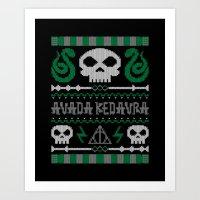 The Dark Sweater Art Print