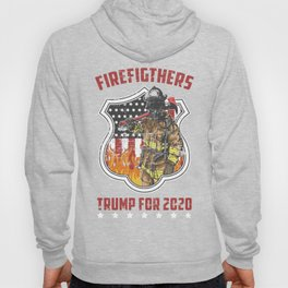 Firefighter For Trump2020 Hoody