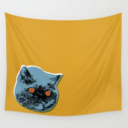 Squish Face Wall Tapestry
