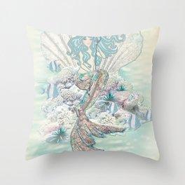 Anais Nin Mermaid [vintage inspired] Art Print Throw Pillow