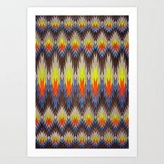 rapid fire Art Print