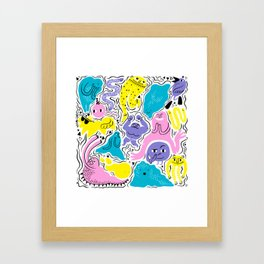 All party! Framed Art Print