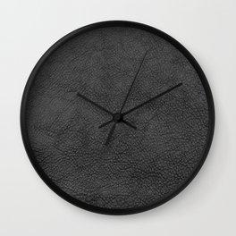 Saddle in Dark Gray Wall Clock