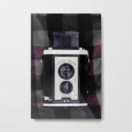KODAK BROWNIE REFLEX Metal Print