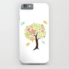 Tree and birds Slim Case iPhone 6s