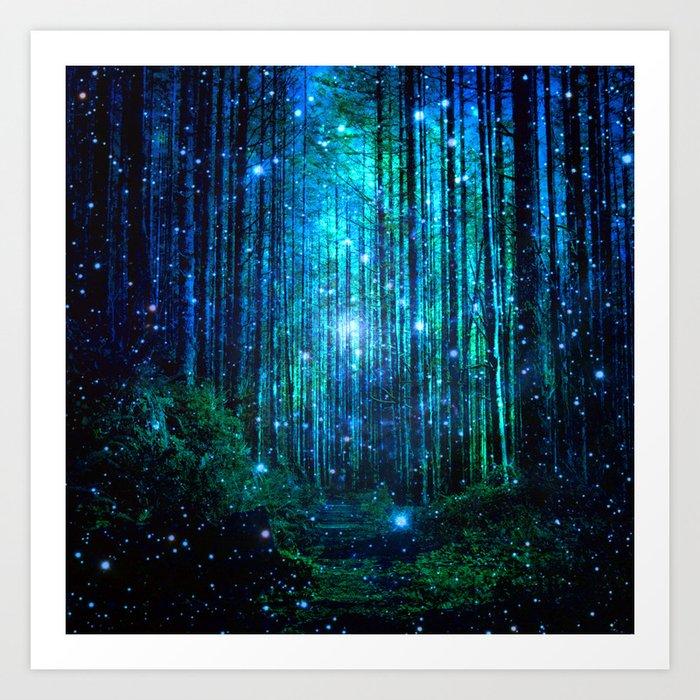 magical path Kunstdrucke