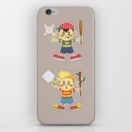 ness and lucas iPhone Skin