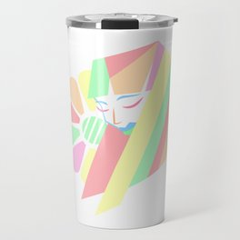 Pastel Melancholy in Spring Travel Mug